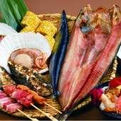 港町釧路でとれた新鮮で旬な味