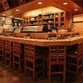寿司はやっぱり、カウンター席で楽しみたい。