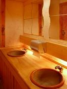 女性にやさしいお店です。特にトイレはこだわって作られています