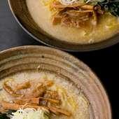 スープは、こってり、あっさり、激辛等好みに応じて選べます