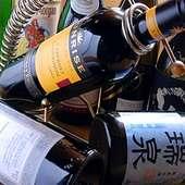カクテル・本格焼酎・ワイン等 約100アイテム