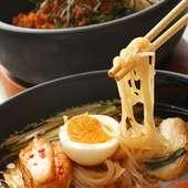 冷麺と石焼ビビンバ
