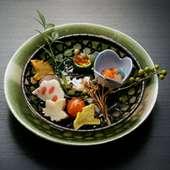 お昼の特選懐石料理