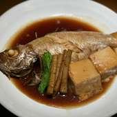 本日の魚の煮付け