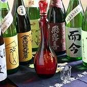 串揚げに合う日本酒を置いています