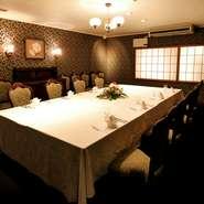 明治30年創業、【東京東洋軒】の出張所として昭和3年、津に開設されたのがこちらの【東洋軒 本店】。創業当時からの洋食メニューでのおもてなしは、大切な結納や顔合わせの席に最適です。