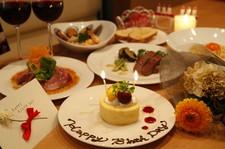 季節の料理を味わえるコース♪女子会やお友達同士での食事、歓迎会や送迎会にもおすすめ!