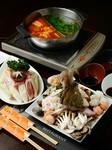 鮮度にこだわった海鮮を、好みの2種類のスープで