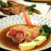 魚のうま味を知り尽くした漁師が作る煮魚もおすすめです。