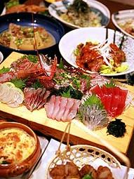 新鮮なお魚や薩摩黒豚など・鍋コースもあります※コースは3100円より※飲み放題お一人様+1500円
