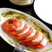トマトとモツァレラチーズのカプレーゼ