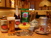 ベトナムビール、ベトナムコーヒー、ベトナムのデザート…