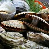 波の音が心地よい…漁師料理「海女」