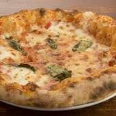 濃厚なモッツァレラチーズが美味い『マルゲリータ』