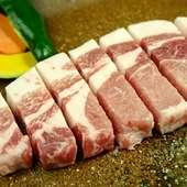 もち豚ステーキ