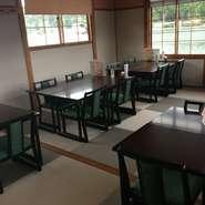 6月24日より2階のお座敷にテーブル・椅子席を設けました。