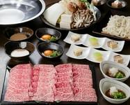 上質のあっさり赤身肉と自家製すき焼き割り下が絶品 宴会・ご家族でのお食事に、1000円UPでロースも可