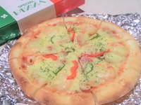 人気No1の、定番ピザ!   持ち帰りは、箱代100円いただきます。
