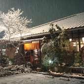 雪降る日の弥彦