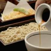 薬味でまた違った味わいを。天ぷらせいろ