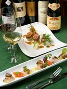 料理に合う、ワインを選ぶのも楽しみのひとつ