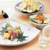 秋田県大潟村で栽培されたお米や野菜などの厳選素材も自慢の一つ