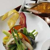 『お野菜たっぷりカレー』定食
