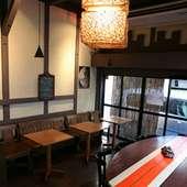 【海cafe 湘南shy'z】 1F店内風景