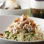 京野菜と豚シャブサラダ