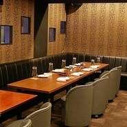 完全個室・半個室・カラオケ付き個室あります。 用途に合わせてお選び下さい。