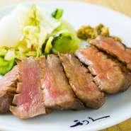 利久の代表的メニュー・炭焼き「極み」や、牛たん寿司をご賞味下さい。