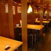 東広島・西条 「屋台」をイメージした店内で楽しいひと時を!