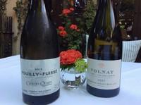 『ムニュサヴールレジエ』に、シャンパン・白ワイン・赤ワインをセット。(ムニュプラチナのみ税、サービス料すべて込みとなります)