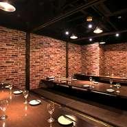 お部屋ごとにコンセプトの違う、梅田で話題のおしゃれバル『肉バル GABURICO-ガブリコ-』!個室完備なのでまわりを気にせずお楽しみ頂けます。《人気のデザイナーズ個室あり》様々なシーンに合わせてご利用下さい。