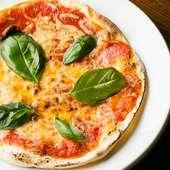 トマトとバジルの酸味がバツグンな『マルゲリータ』