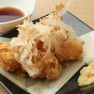愛知県長久手市の豆腐屋【冨田商店】の美豆腐を使用。にがりの代わりにでんぷんを使用しているそう。