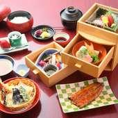 鰻をはじめ、多彩な味わいに魅了される『竹葉弁当』
