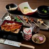 「捨てるところなし」と言われる鰻を食べ尽せる『鰻串膳』