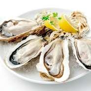 ランチ限定! 旬の真牡蠣を特別価格でご提供! 1P 429円 2P 858円 3P 1,716円