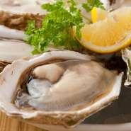 全国各地の産地から、季節によってその時によい生牡蠣を厳選。当社独自の海洋深層水による浄化システムにてお届けいたします。年中通して生牡蠣を味わっていただけるのが自慢です。