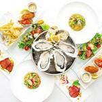 人気の牡蠣料理! 当店人気の牡蠣料理を盛り込んだリーズナブルなコースです。