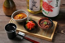 酒の肴と日本酒