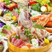 市場直送!新鮮な魚介を毎日入荷