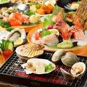 その日仕入れた新鮮な魚介類を使用した料理はお酒とも相性抜群!