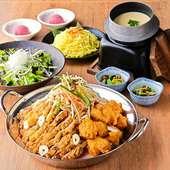 肉のプロが厳選したその日のおすすめ肉の盛合せなど、1700のお肉をお手軽にお楽しみいただけるコースです。