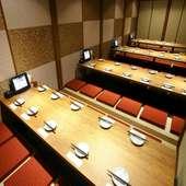 全席完全個室。団体様の宴会も可能!
