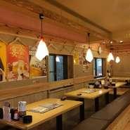 昔懐かしい「屋台」をイメージした店内は、落ち着いた雰囲気の中にも親近感があります。本格職人が握る江戸前寿司を中心に、豊富な和洋折中の創作オリジナルメニューを多数ご用意しています。※写真はイメージ