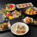 宴会、女子会、お食事、会食などにも最適な贅沢コース!