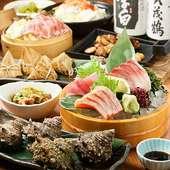 各種宴会コースは3000円~ご用意!