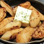 サクサク山芋とバター醤油がベストマッチ!